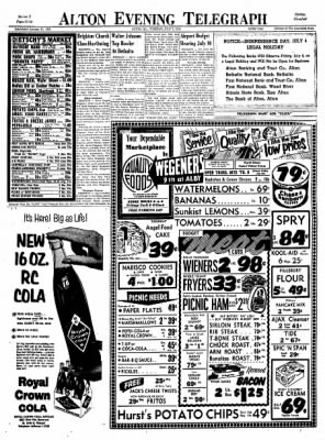 Alton Evening Telegraph from Alton, Illinois on July 1, 1958 · Page 17