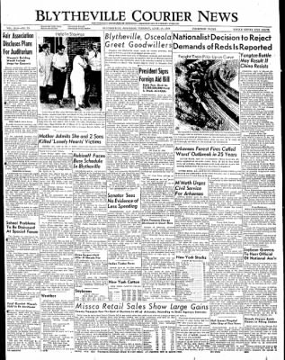 The Courier News from Blytheville, Arkansas on April 19, 1949 · Page 1