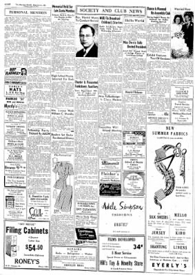 The Morning Herald from Hagerstown, Maryland on April 22, 1947 · Page 6