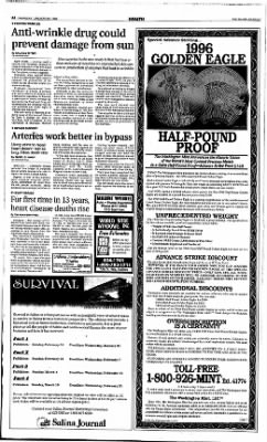 The Salina Journal from Salina, Kansas on January 25, 1996 · Page 4
