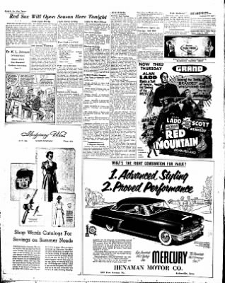 Estherville Daily News from Estherville, Iowa on June 3, 1952 · Page 8