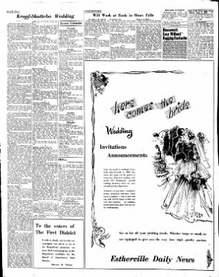 Estherville Daily News from Estherville, Iowa on June 5, 1952 · Page 2
