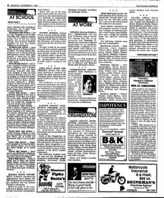 The Salina Journal from Salina, Kansas on October 6, 1997 · Page 22