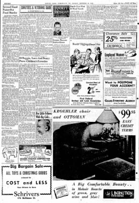 Cumberland Evening Times from Cumberland, Maryland on December 27, 1948 · Page 16