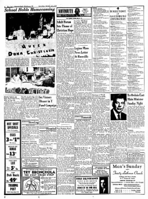 Galesburg Register-Mail from Galesburg, Illinois on October 17, 1953 · Page 6
