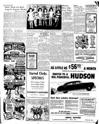 Estherville Daily News from Estherville, Iowa on June 13, 1952 · Page 6