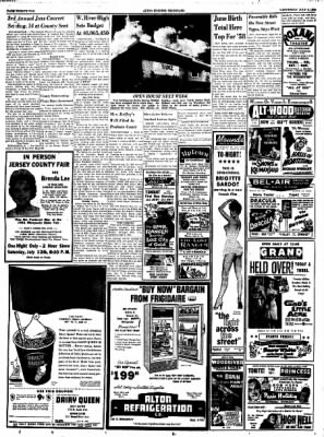 Alton Evening Telegraph from Alton, Illinois on July 9, 1958 · Page 21