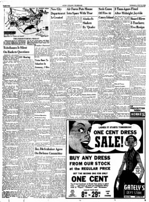 Alton Evening Telegraph from Alton, Illinois on July 10, 1958 · Page 2