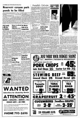Redlands Daily Facts from Redlands, California on July 15, 1963 · Page 4