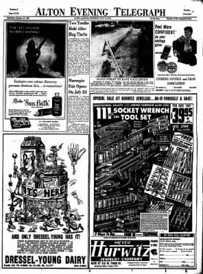 Alton Evening Telegraph from Alton, Illinois on July 10, 1958 · Page 21