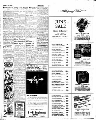 Estherville Daily News from Estherville, Iowa on June 19, 1952 · Page 6