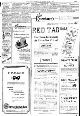 Cumberland Evening Times from Cumberland, Maryland on January 6, 1949 · Page 3