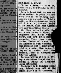 18 Jul 1951 Wed Pg 3 The Akron Beacon Journal - Hoch, Charles S