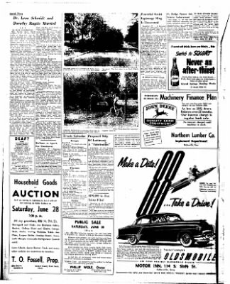 Estherville Daily News from Estherville, Iowa on June 24, 1952 · Page 2