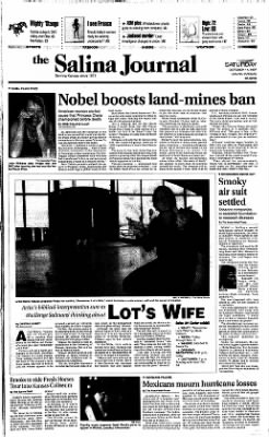 The Salina Journal from Salina, Kansas on October 11, 1997 · Page 1