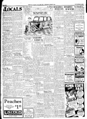Ames Daily Tribune from Ames, Iowa on August 8, 1934 · Page 1