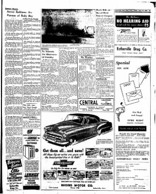 Estherville Daily News from Estherville, Iowa on June 27, 1952 · Page 6