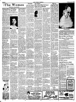 Alton Evening Telegraph from Alton, Illinois on July 15, 1958 · Page 6