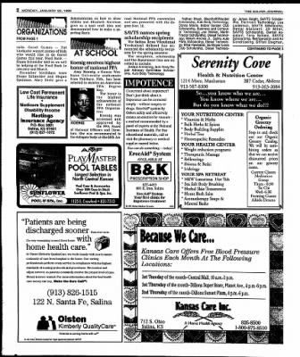 The Salina Journal from Salina, Kansas on January 29, 1996 · Page 16