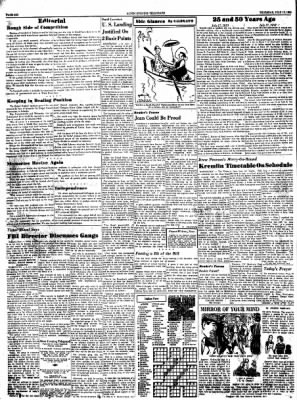 Alton Evening Telegraph from Alton, Illinois on July 17, 1958 · Page 6