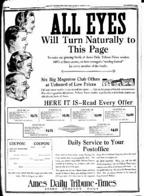Ames Daily Tribune from Ames, Iowa on August 18, 1934 · Page 5