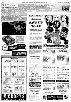 Cumberland Evening Times from Cumberland, Maryland on January 13, 1949 · Page 2