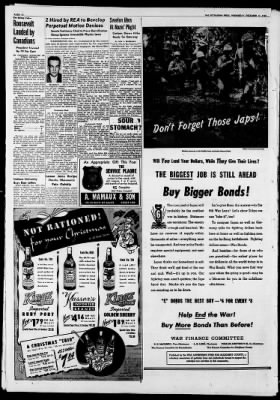 The Pittsburgh Press from Pittsburgh, Pennsylvania on December 13, 1944 · Page 10