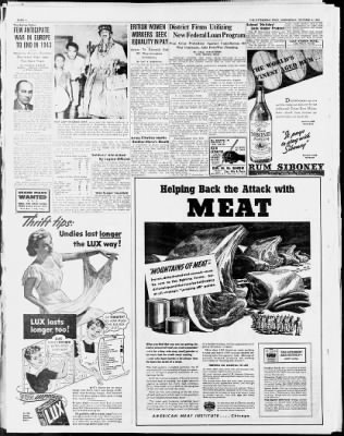 The Pittsburgh Press from Pittsburgh, Pennsylvania on October 6, 1943 · Page 6