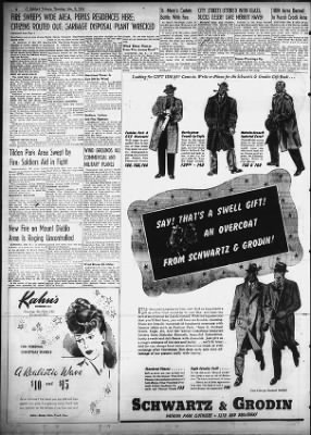 Oakland Tribune from Oakland, California on December 9, 1943 · Page 6
