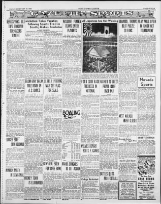 Reno Gazette-Journal from Reno, Nevada on February 18, 1938