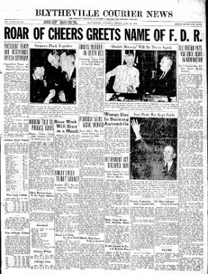 The Courier News from Blytheville, Arkansas on June 26, 1936 · Page 1