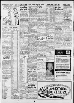 Reno Gazette-Journal from Reno, Nevada on October 8, 1957 · Page 12