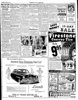 The Courier News from Blytheville, Arkansas on April 19, 1949 · Page 9