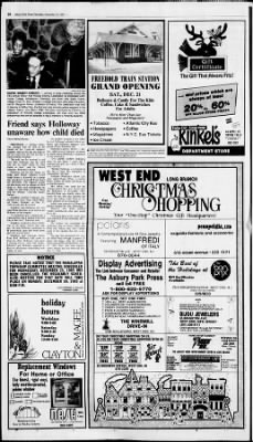 Asbury Park Press from Asbury Park, New Jersey on December
