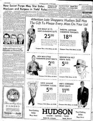 The Courier News from Blytheville, Arkansas on December 22, 1952 · Page 16