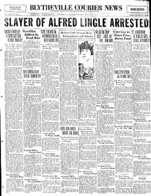 The Courier News from Blytheville, Arkansas on January 8, 1931 · Page 1