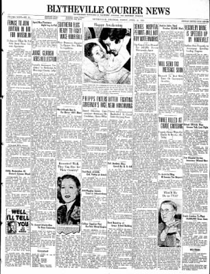 The Courier News from Blytheville, Arkansas on April 15, 1938 · Page 1