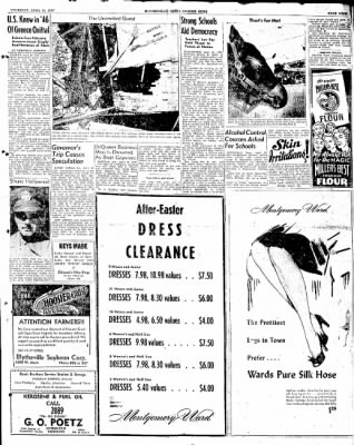 The Courier News from Blytheville, Arkansas on April 10, 1947 · Page 9
