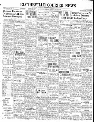 The Courier News from Blytheville, Arkansas on August 7, 1939 · Page 1