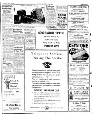 The Courier News from Blytheville, Arkansas on April 10, 1947 · Page 13