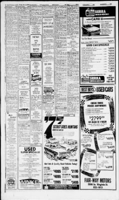 Reno Gazette-Journal from Reno, Nevada on November 12, 1976 · Page 38