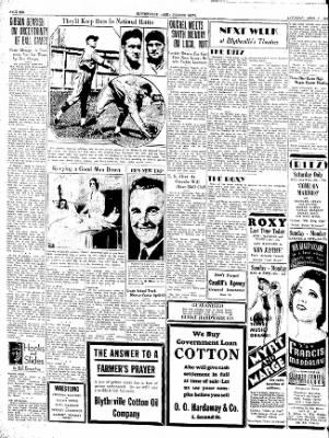 The Courier News from Blytheville, Arkansas on April 7, 1934 · Page 6