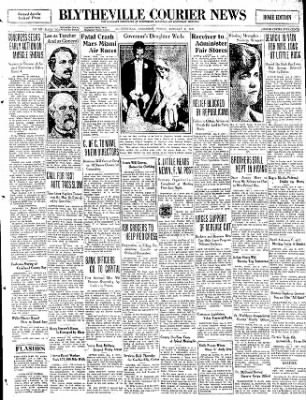 The Courier News from Blytheville, Arkansas on January 9, 1931 · Page 1
