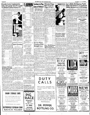 The Courier News from Blytheville, Arkansas on July 21, 1949 · Page 6