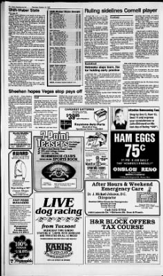 Reno Gazette-Journal from Reno, Nevada on October 19, 1985 · Page 12