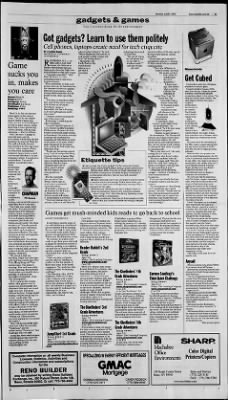 Reno Gazette-Journal from Reno, Nevada on July 31, 2000 · Page 39