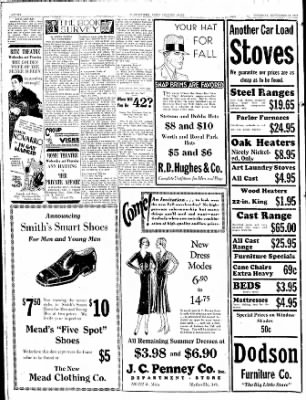 The Courier News from Blytheville, Arkansas on September 18, 1930 · Page 6