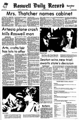 The Roswell Daily Record from Roswell, New Mexico on May 6, 1979 · Page 1