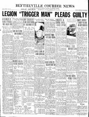 The Courier News from Blytheville, Arkansas on June 29, 1936 · Page 1