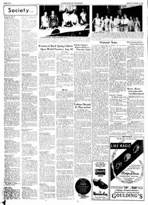 alton evening telegraph from alton illinois on august 14 1953